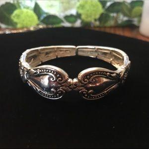 Sterling silver stretch bracelet from J.Jill